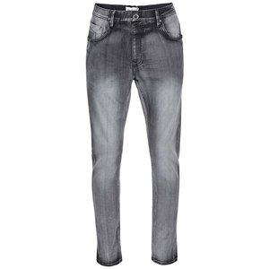 Jeanși Antifit gri cu talie elastică de la Shine Original