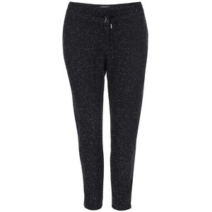Pantaloni de damă melanj Maison Scotch - negru