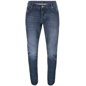 Jeanși bărbătești bleumarin, prespălați, Dexter, de la !Solid