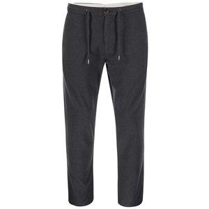 Pantaloni gri închis Selected Beck