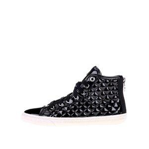 Pantofi sport de damă tip gheată negri GEOX New Club