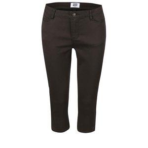 Pantaloni Vero Moda Flex maro trei sferturi