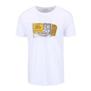 Tricou ZOOT Original Instant Noodle alb pentru bărbați