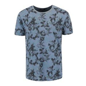 Tricou ONLY & SONS Mang albastru cu print