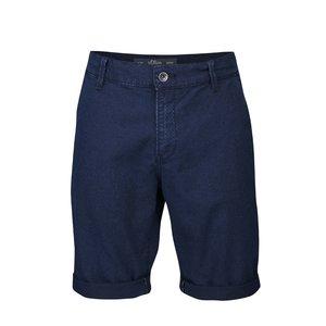 Pantaloni scurţi s.Oliver albastru închis