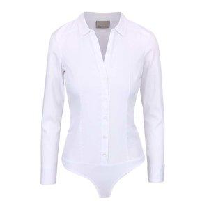 Cămașă tip body Vero Moda Lady albă