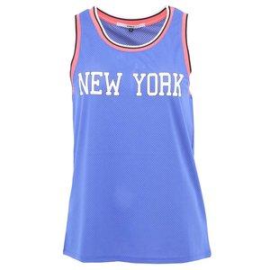 Vestă ONLY NY cu sigla New York - albastru