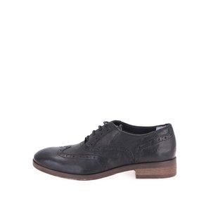 U.S. Polo Assn. Pantofi de damă Oxford din piele - negri