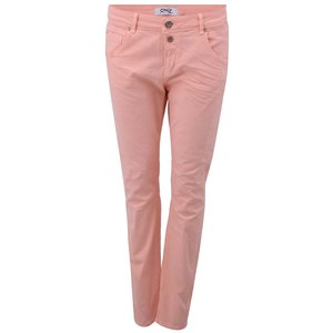 Pantaloni culoarea piersicii, model Lise de la ONLY