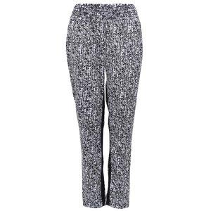 Pantaloni confortabili Hills b.young - negru și alb