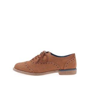 Pantofi oxford ALDO Mylo maro