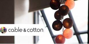Cable & Cotton: světelné šperky pro váš domov