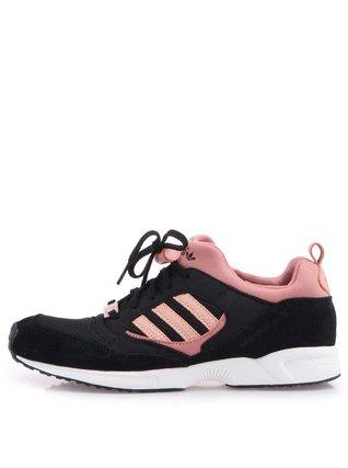 Adidas - Růžovo-černé dámské sportovní boty Torsion Response ...