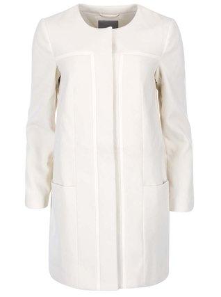 Vero Moda - Krémový delší kabát Framing - 1