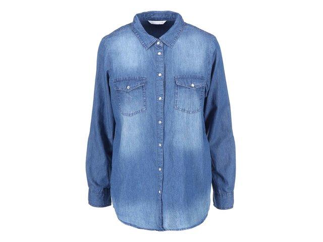 Modrá denimová košile ONLY Always