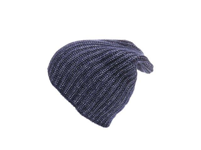 Tmavě modrá lesklá čepice Vero Moda Brita