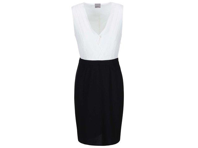 Bílo-černé šaty Vero Moda Juliet