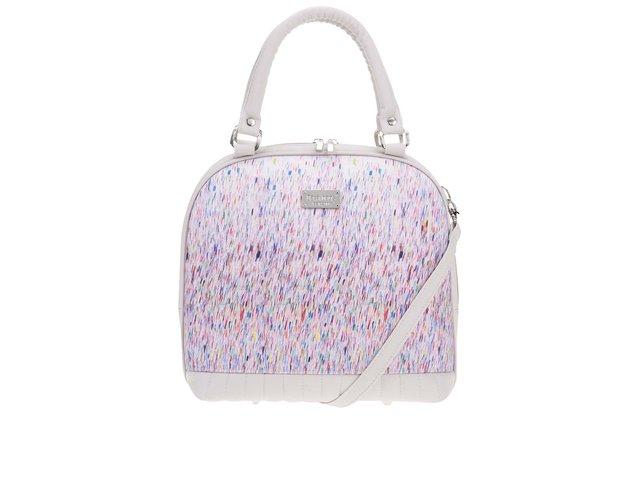 Béžovošedá vzorovaná menší kabelka Dara bags Sweet Angel Bell