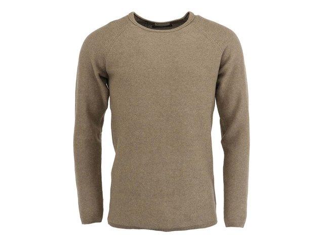 Béžový svetr Selected Vince