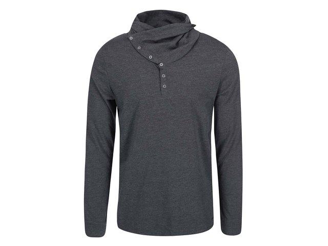 Černé pánské triko s límcem Ragwear Yoda