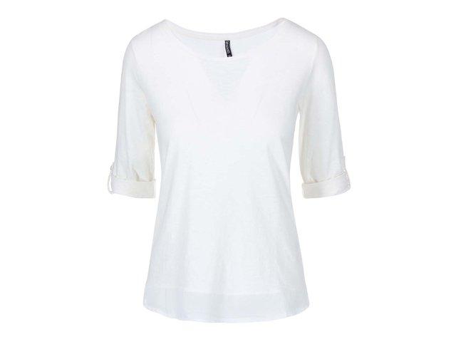 Bílé tričko s 3/4 rukávem Haily´s Vicky