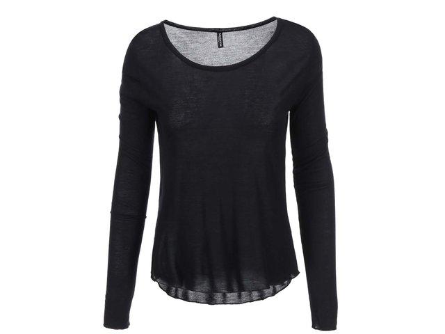 Černé tričko Madonna Hinata