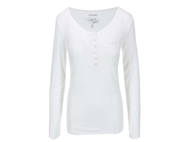 Bílé tričko Madonna Leyla Buttons