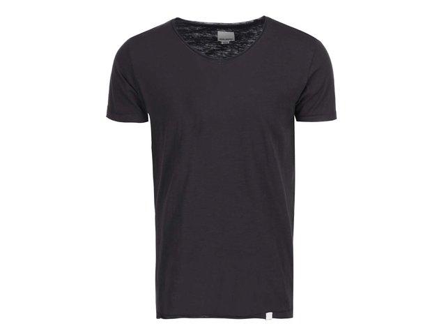Černé triko Shine Original Pigment