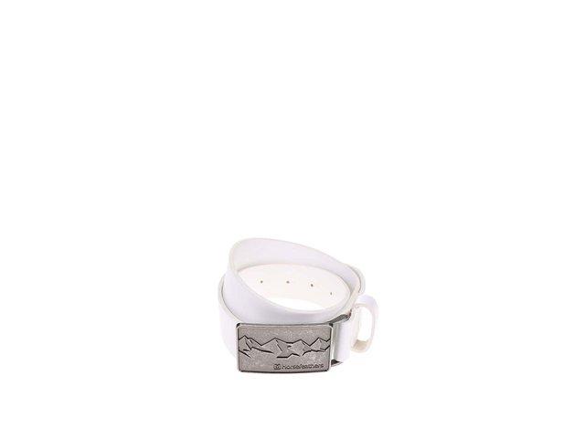 Bílý dámský kožený pásek Horsefeathers Winie