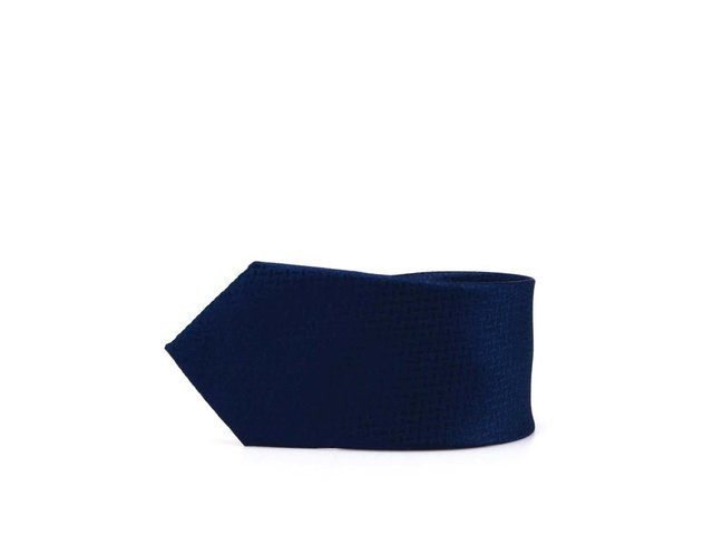 Tmavě modrá kravata Selected Noos