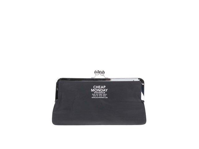 Černá menší kabelka Cheap Monday Wallet Clutch
