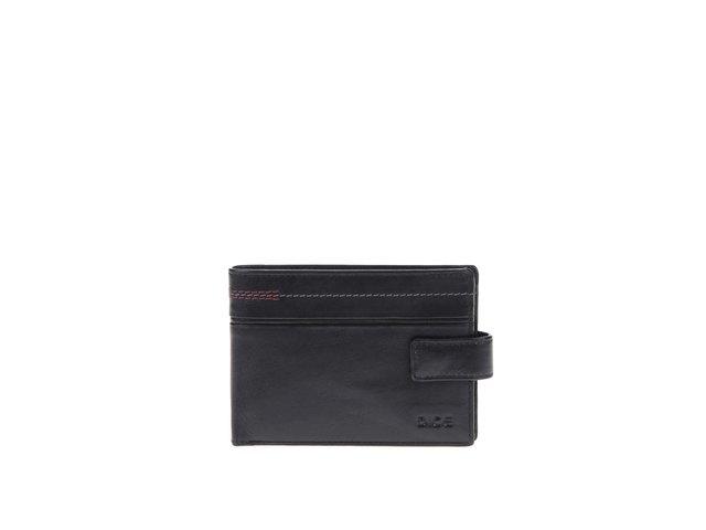 Černá kožená peněženka Dice Blair