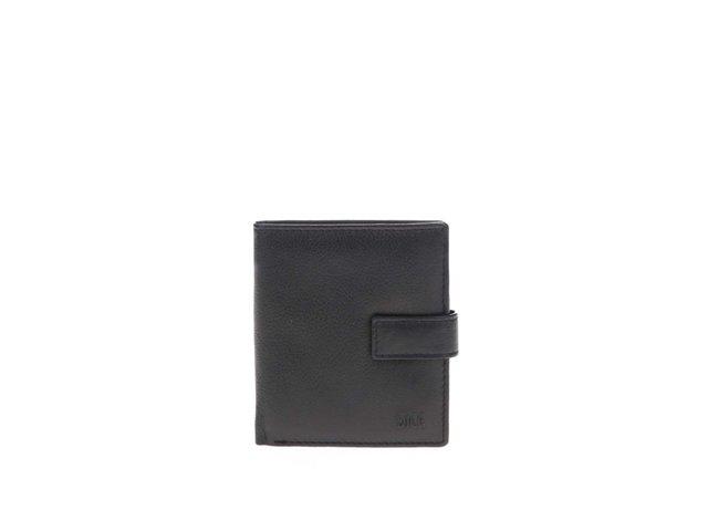 Černá kožená peněženka Dice Darcy