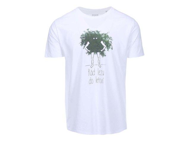 Bílé pánské triko ZOOT Originál Křoví