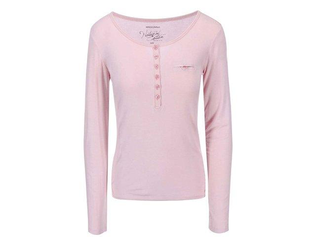 Růžové tričko Madonna Leyla Buttons