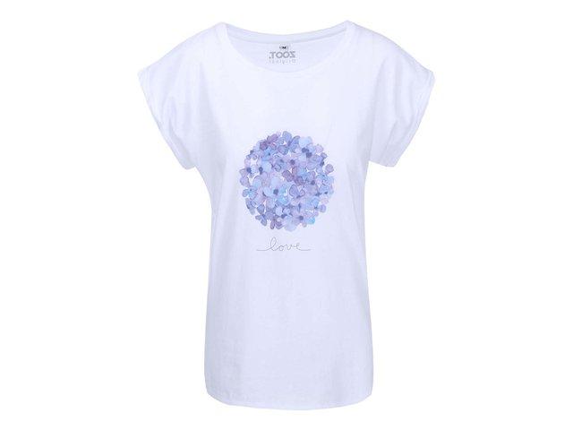 Bílé dámské tričko ZOOT Originál Love