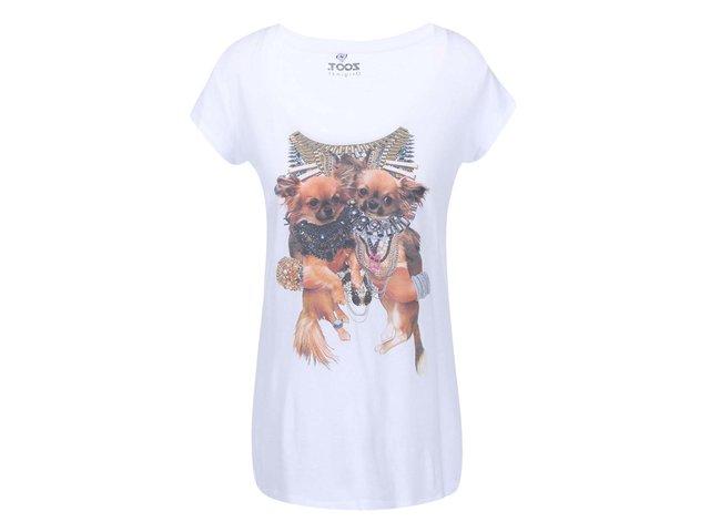 Bílé dámské tričko ZOOT Originál Čivavy