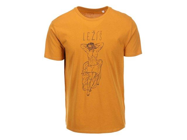 Oranžové pánské triko ZOOT Originál Ležíš