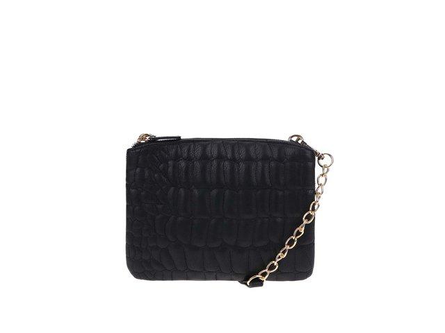 Černá menší kabelka / dvě kosmetické taštičky ONLY Darcy
