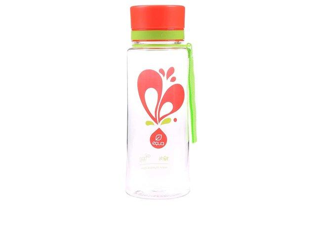 Plastová láhev s motivem srdce EQUA (600 ml)