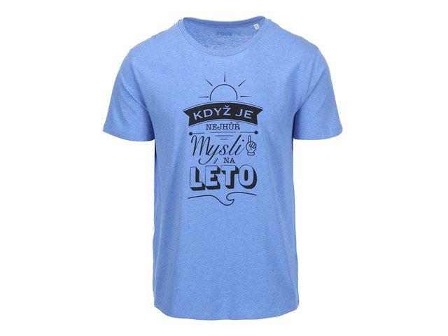 Modré pánské triko ZOOT Originál Když je nejhůř