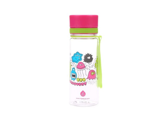 Plastová láhev s příšerkami EQUA (400 ml)