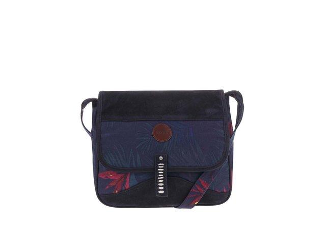 Tmavě modrá menší kabelka s potiskem Roxy EZ Breeze