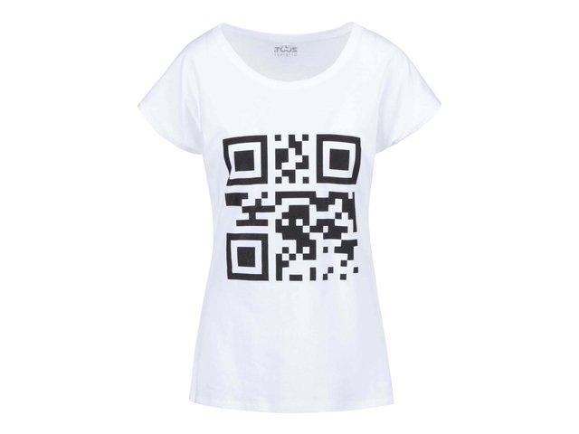 Bílé dámské tričko ZOOT Originál QR kód