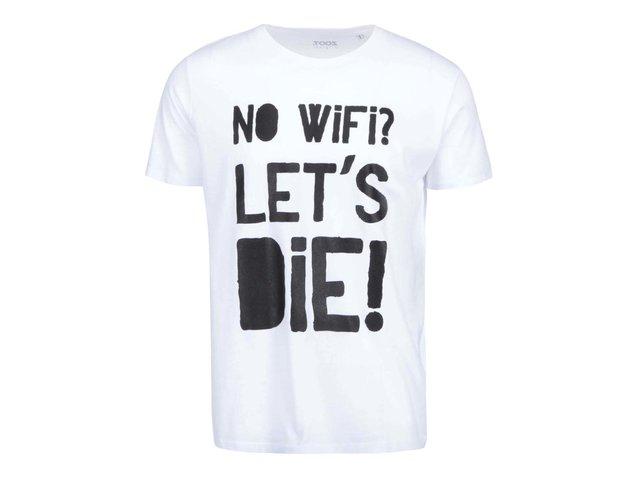 Bílé pánské triko ZOOT Originál No Wifi
