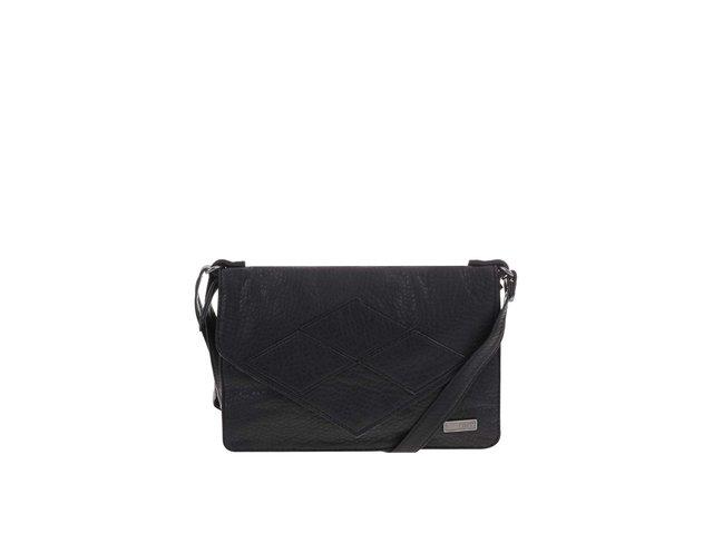Černá menší prošívaná kabelka přes rameno Roxy In The Plan