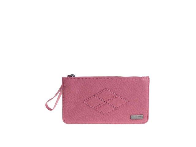 Růžová prošívaná peněženka Roxy Atoll