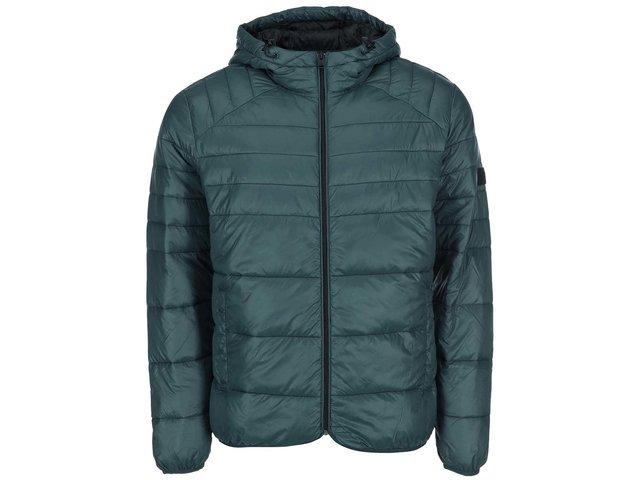 Modrá prošívaná bunda Jack & Jones Baron