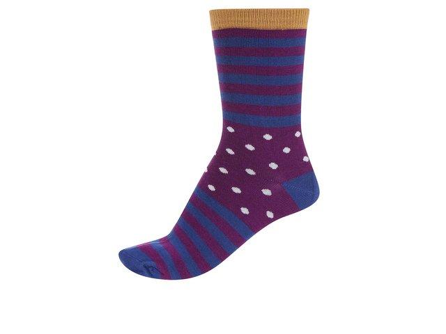 Modro-fialové dámské bambusové ponožky Braintree Wanda Clye