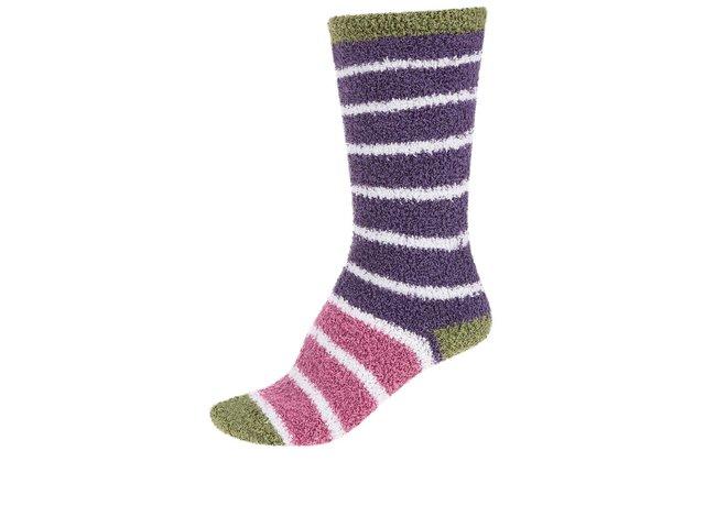 Růžovo-fialové dámské teplé ponožky Braintree Willoemi